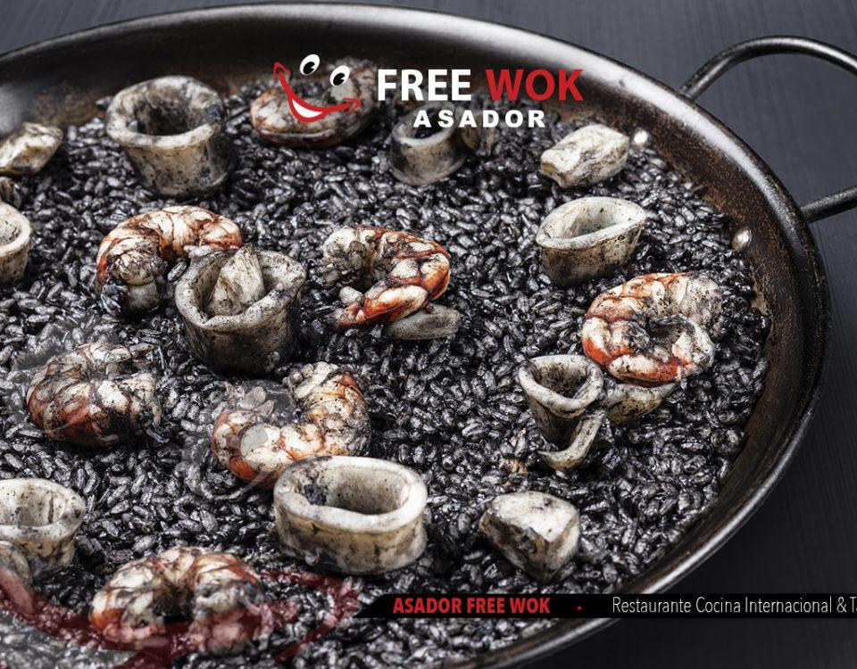 Si eres amante del arroz ven a Free Wok Paterna (Valencia)