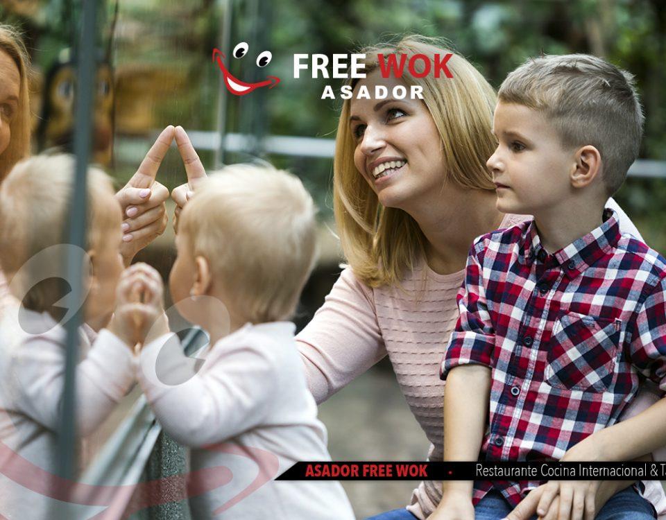 Heron City y Free Wok para los mas pequeños