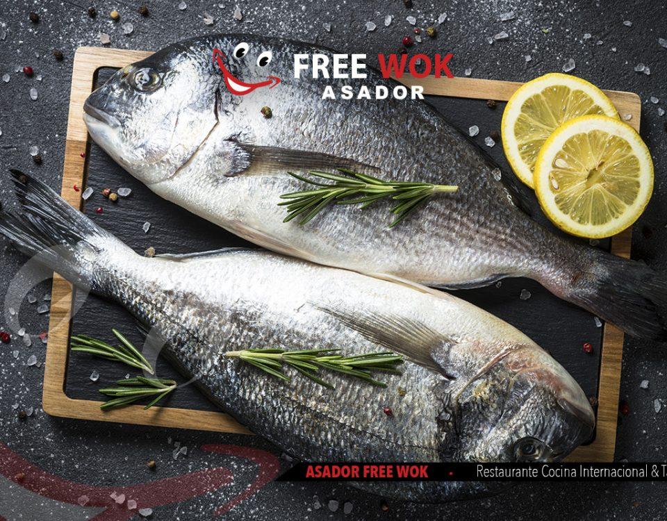 beneficios y tipos de pescado - free wok paterna