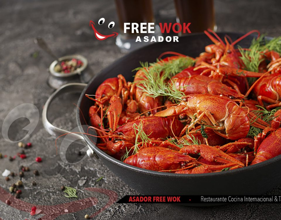 Disfruta del mejor marisco en Asador Free Wok Paterna