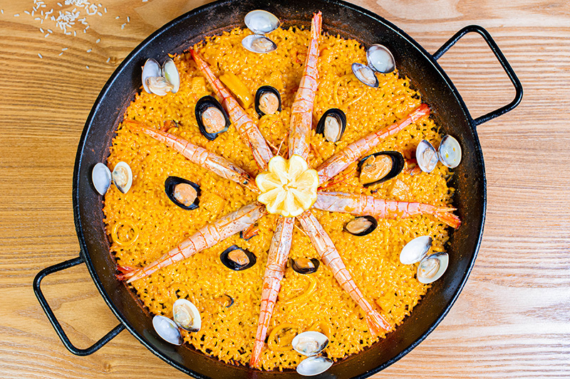 Cocina mediterránea - Free Wok